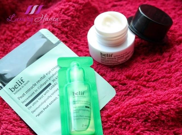 bellabox review belif peat miracle revital cream serum concentrate