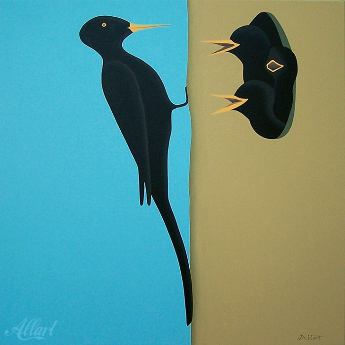 Плоские картины. Jeroen Allart