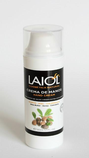 Crema de manos de Laiol