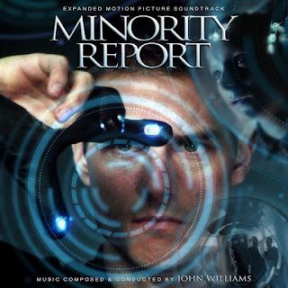 MINORITY REPORT JOHN WILLIAMS SOUNDTRACK COVER ALTERNATE EXPANDED CUSTOM