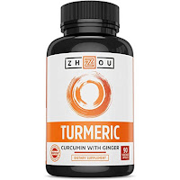 Turmenic curcumin and Ginger with Bioperine