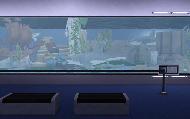 visite aquarium sims 4