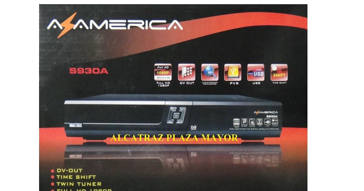 actualizacion azamerica s810b octubre 2012