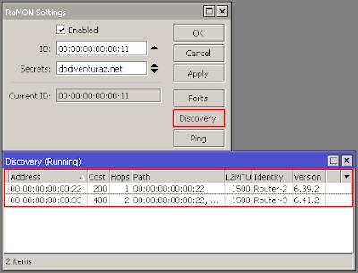 Tutorial Konfigurasi RoMON di Router Mikrotik