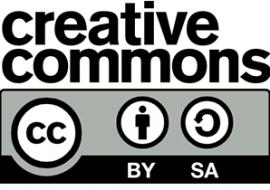Creative Commons License - Attribution-ShareAlike 4.0 International - CC BY-SA 4.0