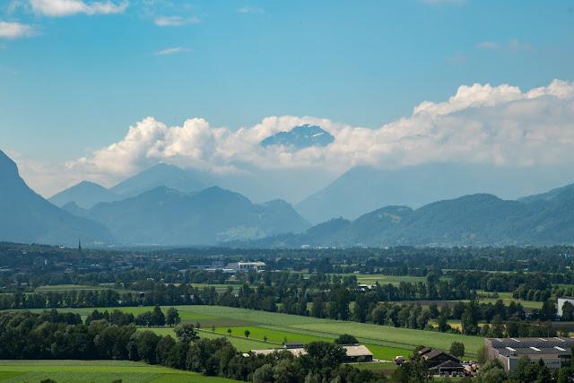 Historische Höhenweg von Bendern nach Schellenberg  Wandern Liechtenstein 07
