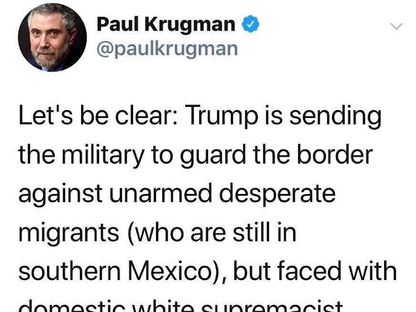 Military Sent To Border Against Unarmed, Desperate Migrant Families Not At Border