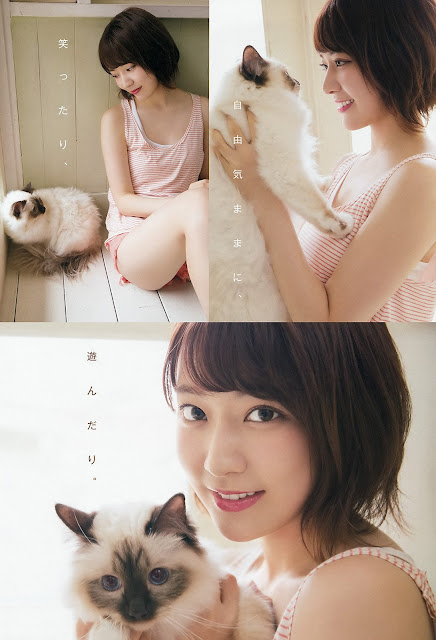 HKT48 Miyawaki Sakura Gravure YAM 008