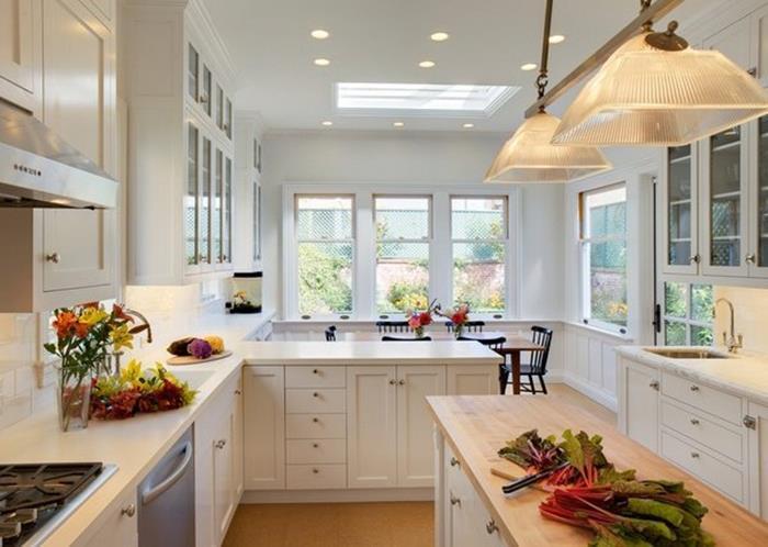 beyaz mutfak kabinleri ile english home mutfak dekorasyonu
