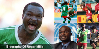 Biography Of Roger Milla - Legend Roger Milla Lions From Cameroon