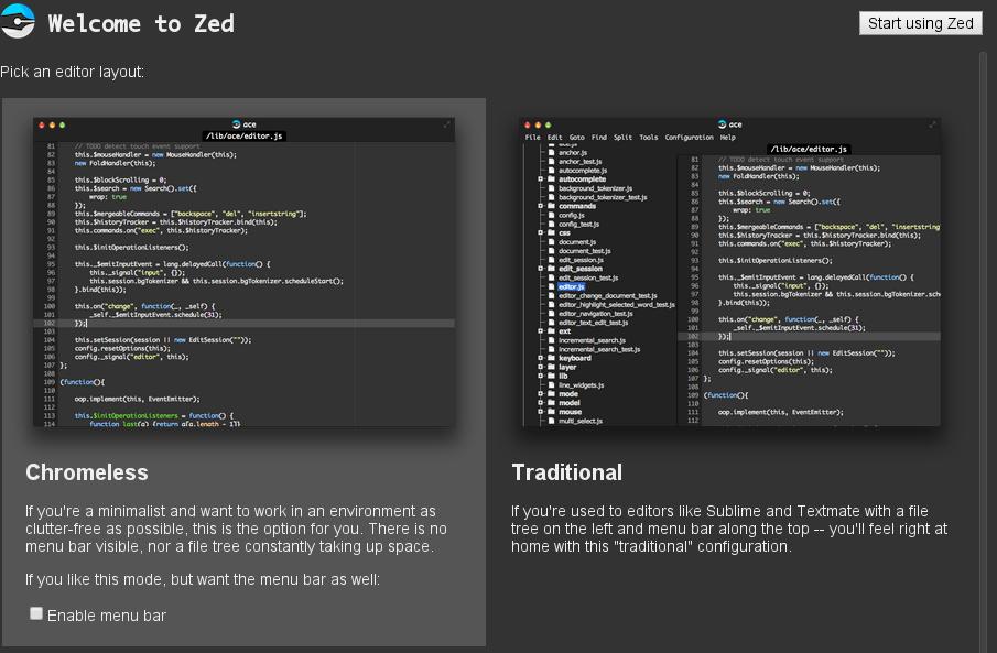 Programming Rants: Atom vs Brackets vs LightTable vs Zed