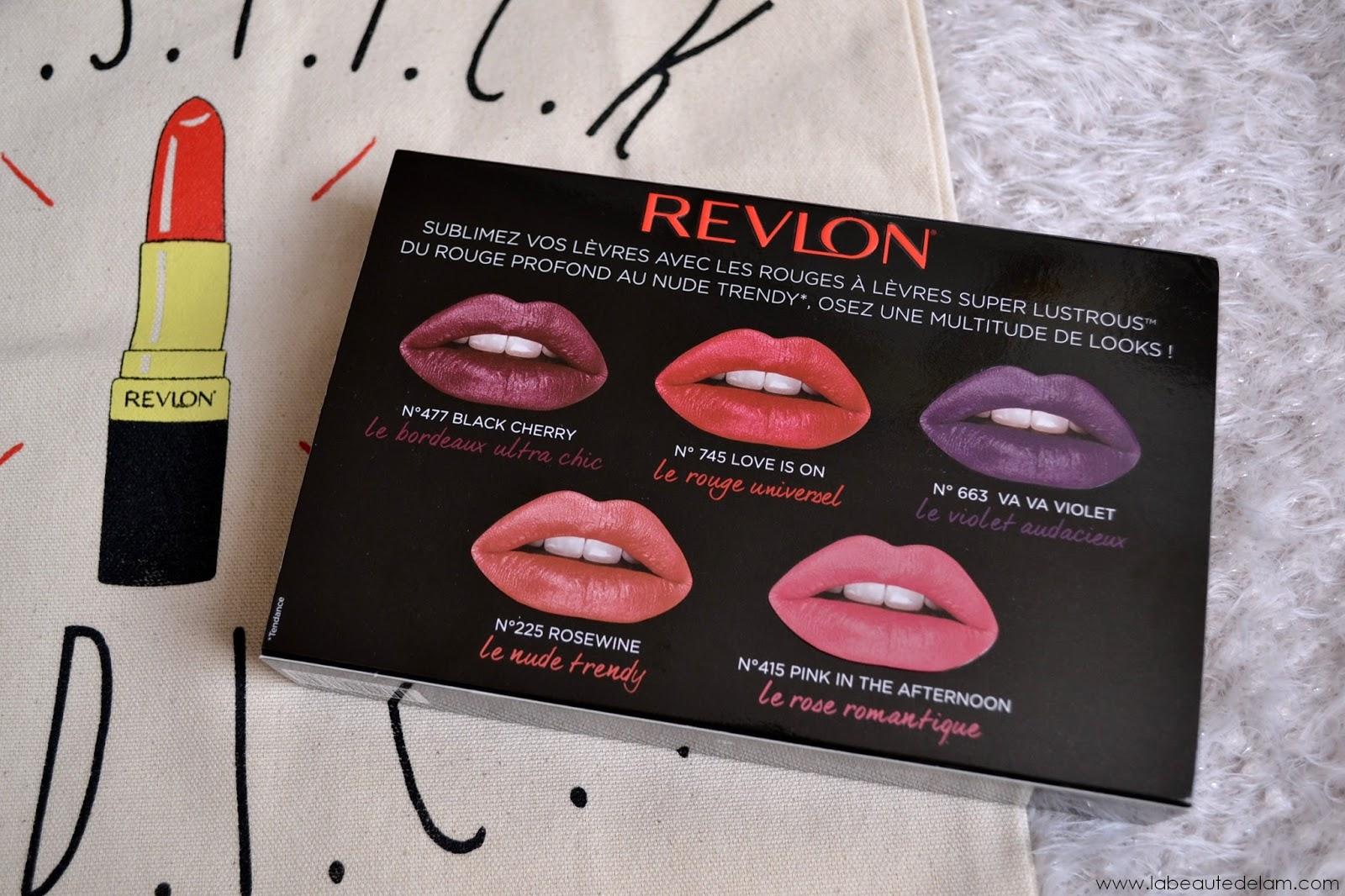 Harga Jual Revlon Super Lustrous Lipstick Love Is On 745 Terbaru Hello Nuku Seville Pink Mules Heels Merah Muda 36 La Beaut De Lm Blog Bien Tre Culture Et Gourmandise