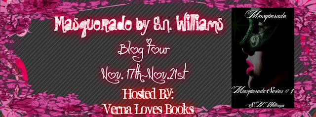 Blog Tour: Masquerade by S.N. Williams