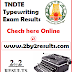 TNDTE Typewriting exam result February 2018 @ www.tndte.gov.in