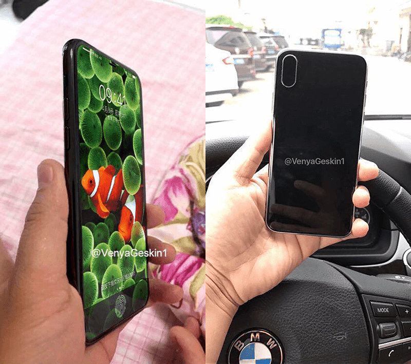 The possible dummy model of iPhone 8