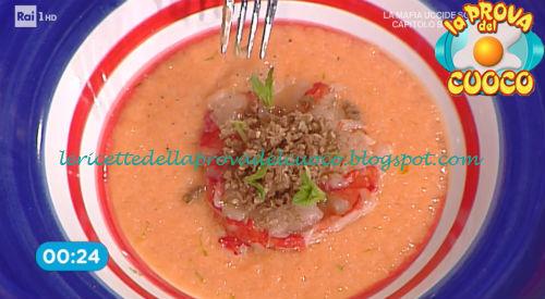 Prova del cuoco - Ingredienti e procedimento della ricetta Zuppetta fredda al melone di Roberto Valbuzzi
