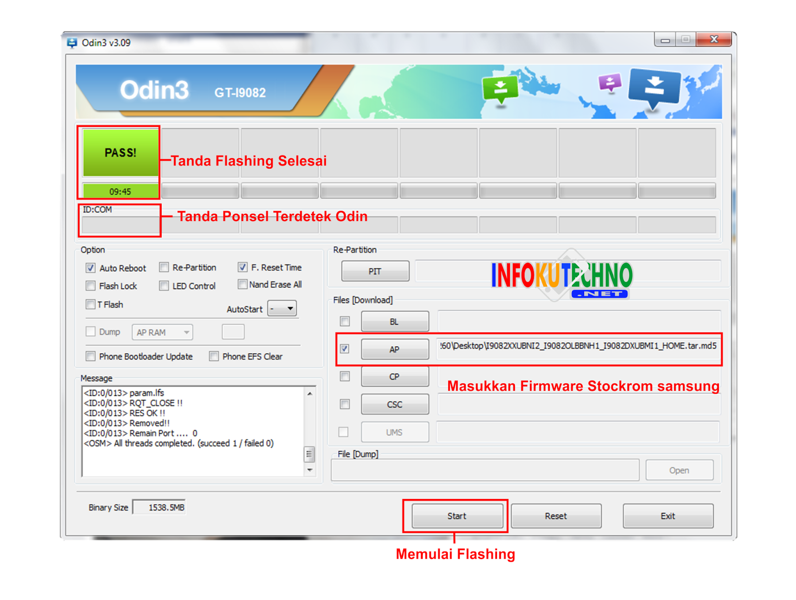 Cara Mudah Flashing Samsung Galaxy Grand Duos GT19082