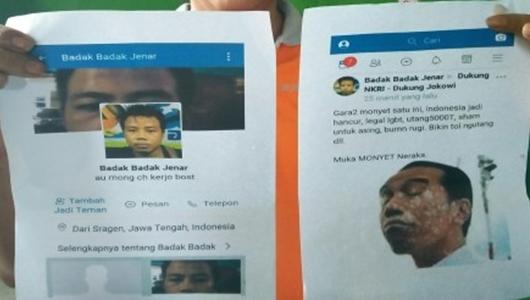 Polres Sragen Tangkap Pemilik Akun Penghina Presiden Jokowi