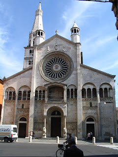 The Duomo at Modena, where the funeral of Pavarotti took place in 2007