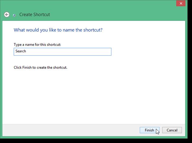 Cara Membuat Shortcut Search Di Desktop Windows 8.1