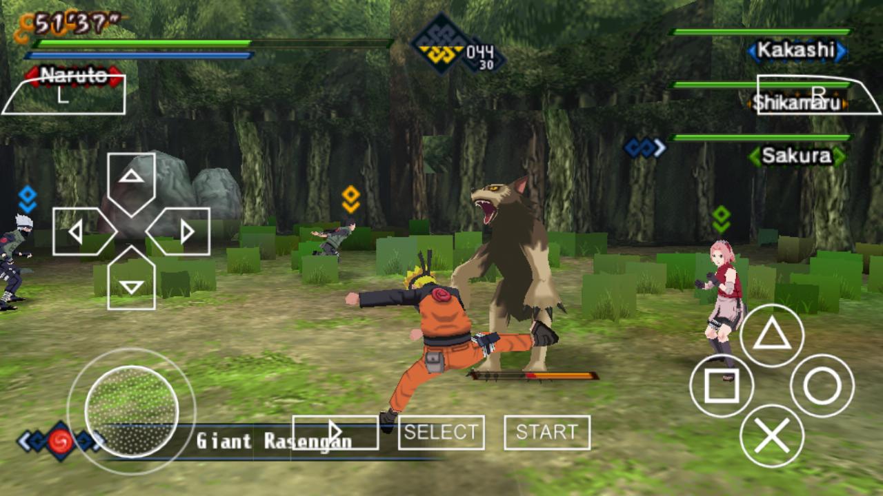Naruto Shippuden Kizuna Drive PSP ISO Free Download ...