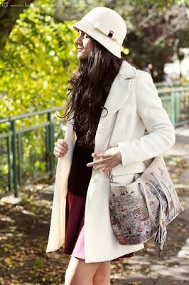 Un cappottino bianco