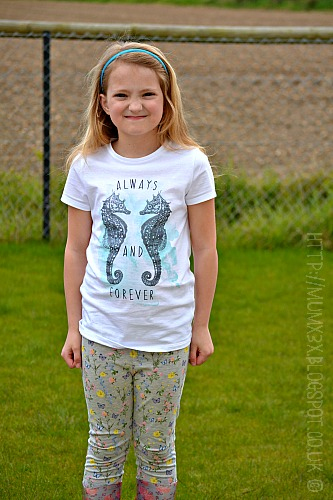 Kids floral leggins and floral wellie boots @ ups and downs, smiles and frowns