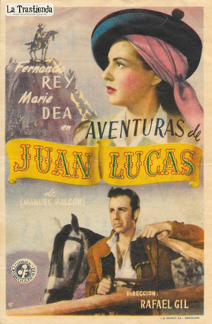 Aventuras de Juan Lucas - Programa de Cine (Vert.) - Fernando Rey - Marie Déa