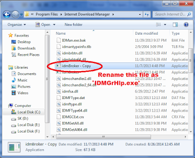 How to remove 'IDM has been registered with the fake serial number ' error? 1