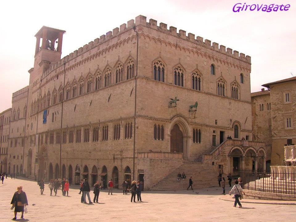 piazza Priori Perugia Umbria