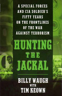 Hunting the Jackal by Billy Waugh and Tim Keown (Book cover)