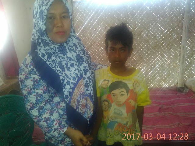 Bersama Kades Karangkedawung, Ami Puji Trisnowati, SP