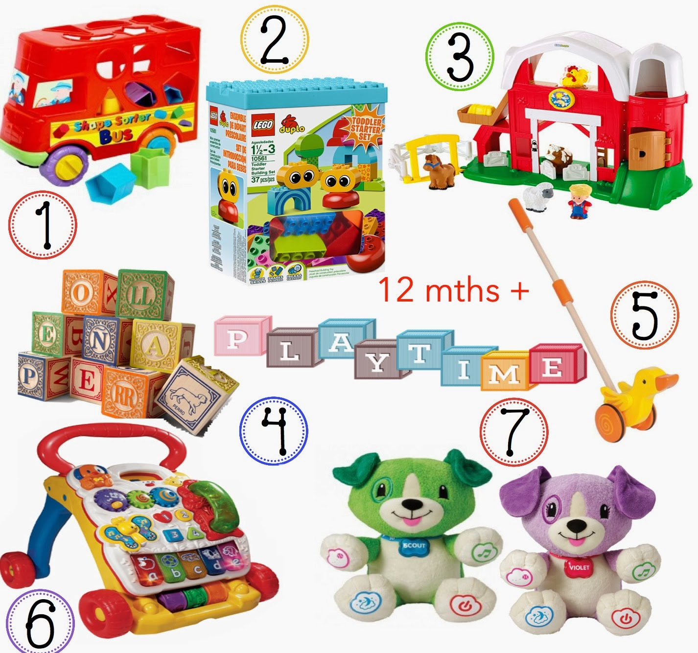 Classic Toys That Every One Year Old Should Have In Their