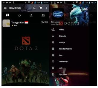 BBM Mod Dota 2 V3.0.0.18 Apk For Android