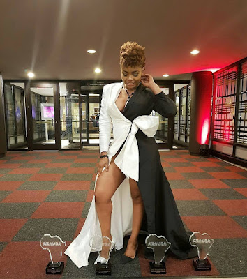Yemi Alade Wins Four Awards At The African Entertainment Awards In The US