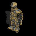 Zorgons, los robots errantes del cosmos ~ Spore Galaxies: The Fallen Soldado%2BZorgon%2Bmodelo%2BX-42