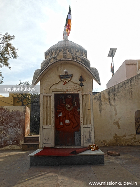 Hanuman Temple atRajrajeshwari Mata Temple Jaipur