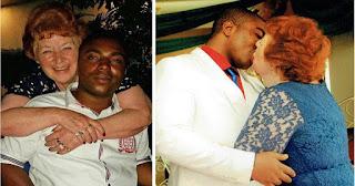 Γιαγιά 72 ετών βρήκε την αγάπη σε ένα Νιγηριανό άνδρα 45 χρόνια νεότερο