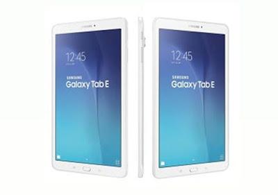 Harga dan Spesifikasi Samsung Galaxy Tab E 9.6
