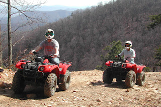 Pigeon Forge ATV fun in the Smokies