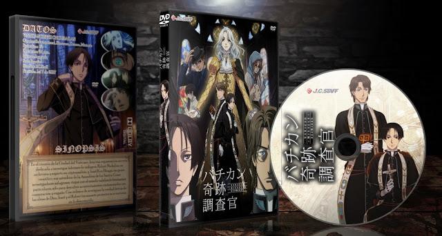 Vatican Kiseki Chousakan   Cover DVD  
