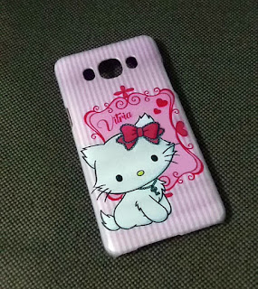 custom case hello kitty & nama sendiri