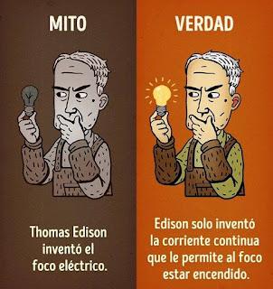El Efecto Mandela en las curiosidades históricas - Thomas Edison