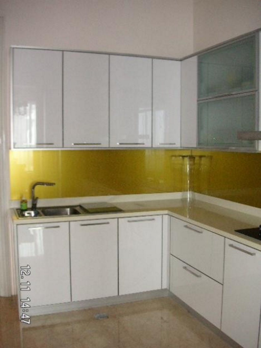 kitchen set duco putih 3