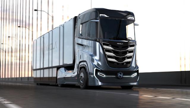 nikola new truck reveald