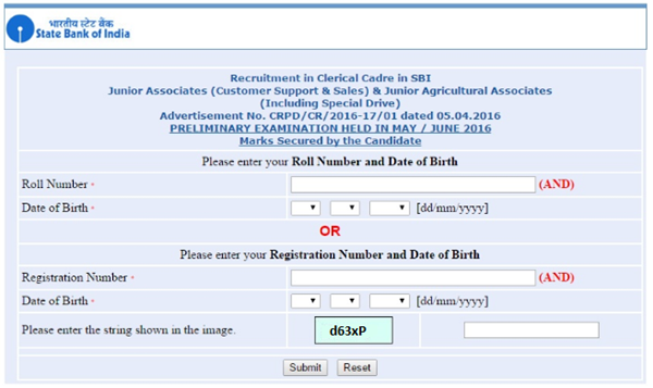 SBI Clerk Prelims Result 2018 Expected Date, Marks | SBI.CO.IN