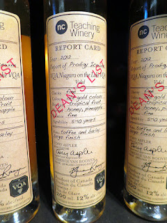 Niagara College Teaching Winery Dean's List Prodigy Icewine 2012 (90 pts)
