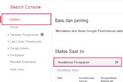 Memperbaiki Error 404 Di Google Webmaster