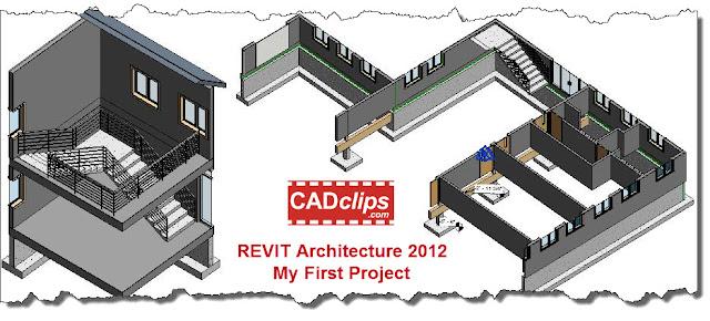 REVIT Rocks !: CADclip on REVIT 2012 3D Plans and Sections