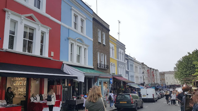 les maisons colorees de portobello road par woody beauty